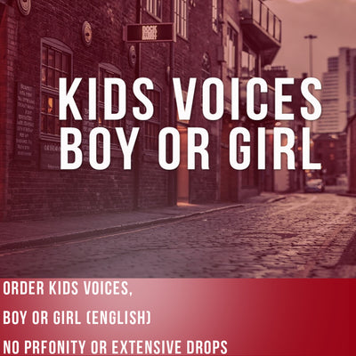 Kids Voices Boy or Girl