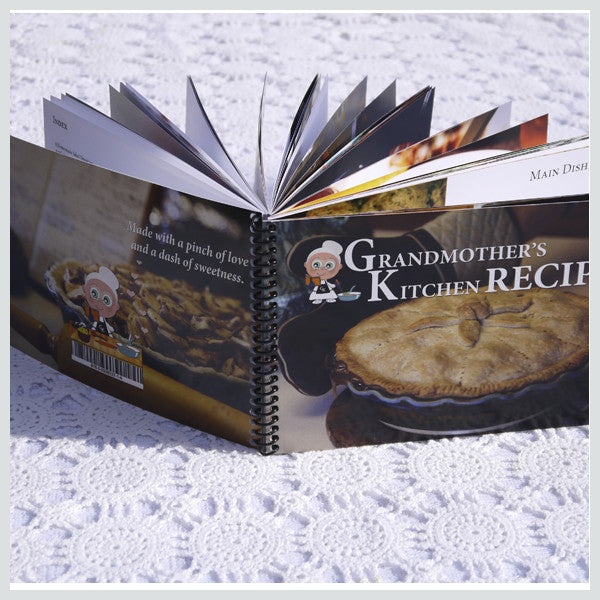 Grandmother's Recipe Book - Family Favorites - Volume 1, (hard-copy with ring bindings)