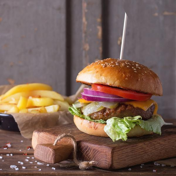The Best Minted Lamb Burger Recipe