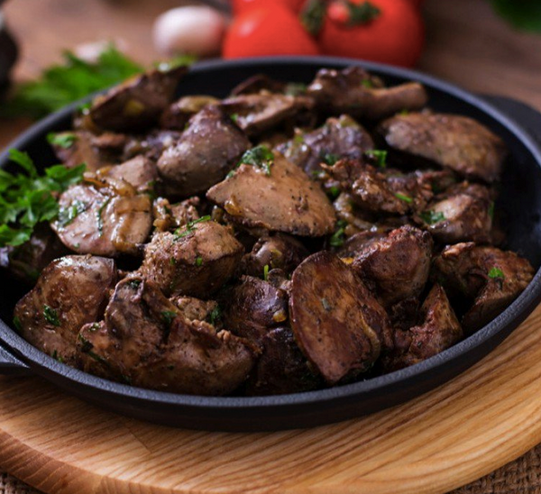 The Best Chicken Liver Recipe