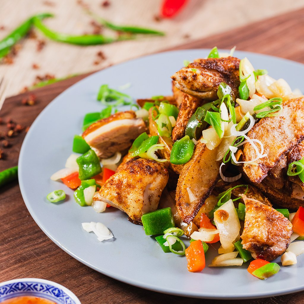 The Best Salt & Pepper Chicken Recipe