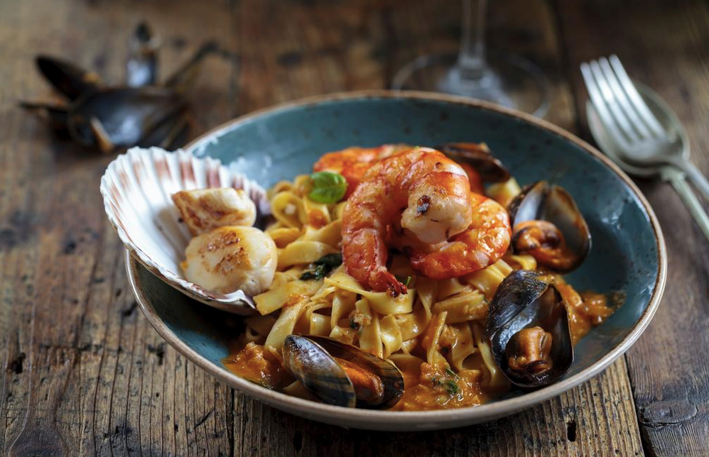 The Best Seafood Linguine Recipe
