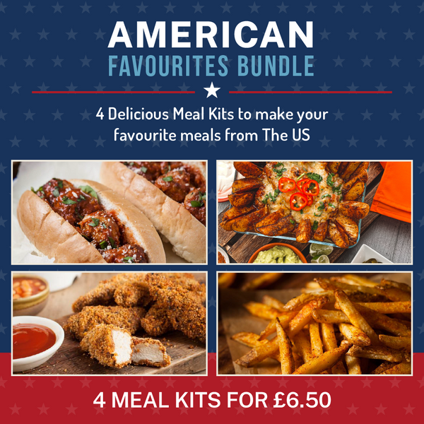 American Bundle (4 Meal Kits for £6.50)