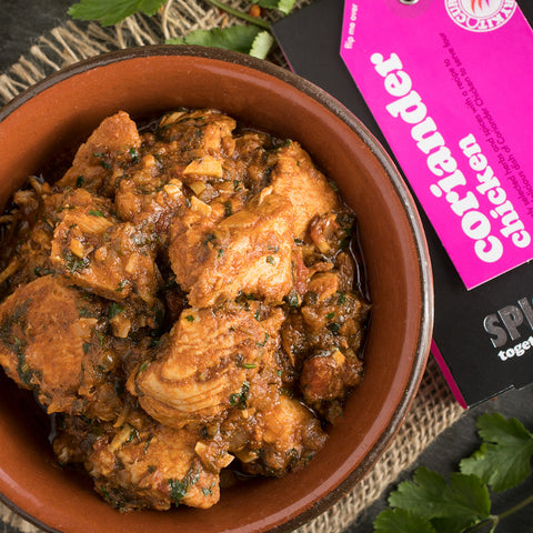 Coriander Chicken Curry Kit | Easy Recipe | Spice Meal Kits | SPICE N TICE