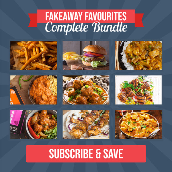 Fakeaway Favourites (SUBSCRIBE & SAVE) 9 Premium Meal Kits for £12