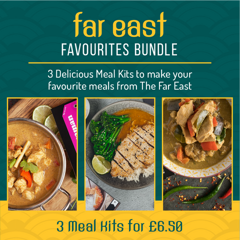 Far East Bundle (3 Meal Kits for £6.50)