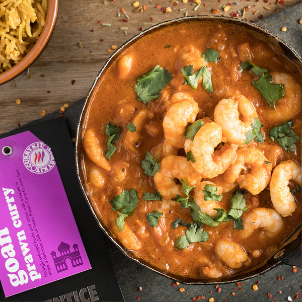 Goan Prawn Curry Kit | Easy Recipe | Spice Meal Kits | SPICE N TICE