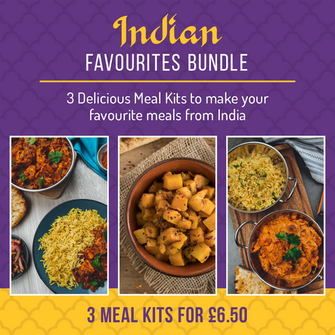 Indian Bundle (3 Meal Kits for £6.50)