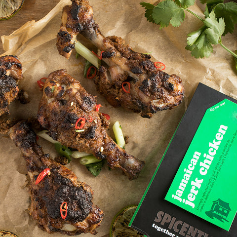 Jamaican Jerk Chicken Spice Kit | Easy Recipe | Spice Meal Kits | SPICE N TICE