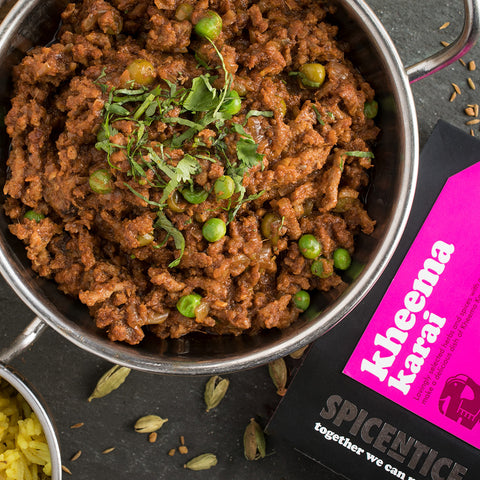 Kheema Karai Curry Kit | Easy Recipe | Spice Meal Kits | SPICE N TICE