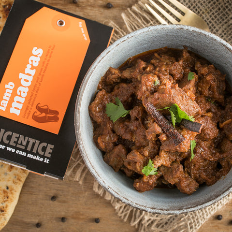 Lamb Madras Curry Kit | Easy Recipe | Spice Meal Kits | SPICE N TICE