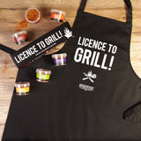 Licence To Grill Gift Set & Apron Bundle | Easy Recipe | Spice Meal Kits | SPICE N TICE