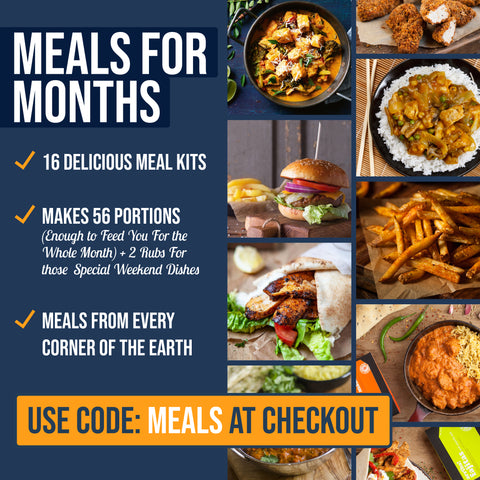 Meals For The Month - (16 Meal Kits) Normally £30 - NOW £25