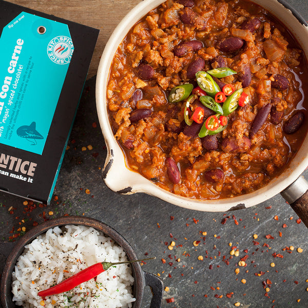 Chilli Con Carne Spices Mix | Easy Recipe | Spice Meal Kits | SPICE N TICE