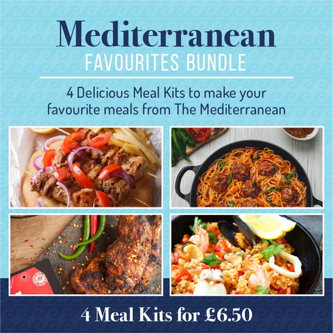 Mediterranean Favourites Bundle (4 Meal Kits for £6.50)