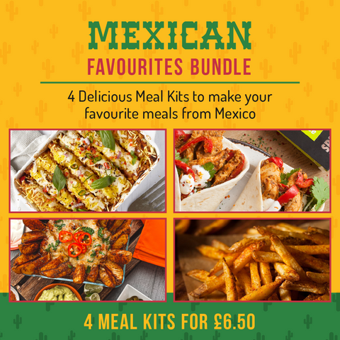 Mexican Favourites Bundle (4 Meal Kits for £6.50)