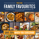 "Pick N Mix Family Favourites Bundle - ""SAVE 25%"" - 10 Meal Kits for £12"