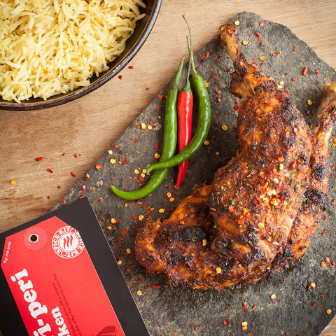 Easy Peri Peri Chicken Recipe Spice Kit