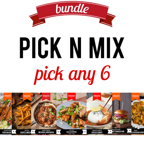 Pick N Mix | Easy Recipe | Spice Meal Kits | SPICE N TICE