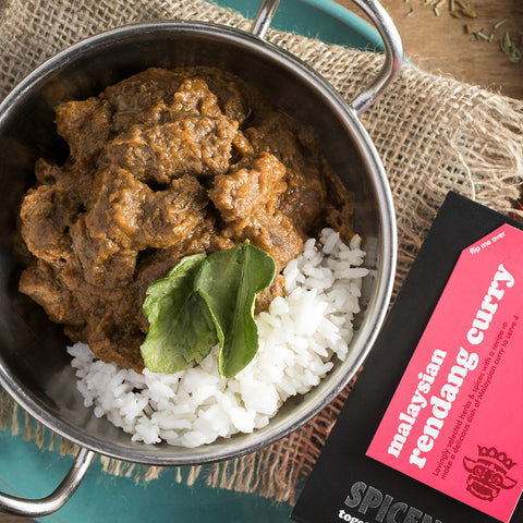 Malaysian Rendang Curry Kit | Easy Recipe | Spice Meal Kits | SPICE N TICE