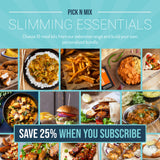 Pick N Mix Slimming Favourites Bundle  (SUBSCRIBE & SAVE 25%) 10 Meal Kits for £12