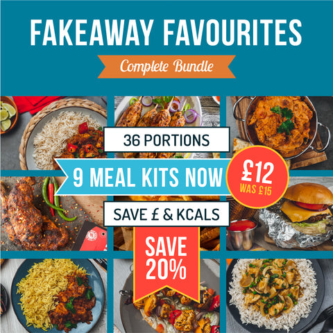 Copy of Fakeaway Favourites Bundle - 14 Meal Kits Just £16.95 UPGRADE