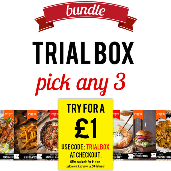 Trial Box | Easy Recipe | Spice Meal Kits | SPICE N TICE
