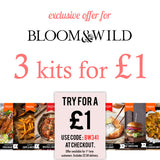 Bloom & Wild Exclusive £1 Trial Box Offer | Easy Recipe | Spice Meal Kits | SPICE N TICE