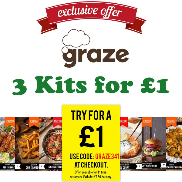 Graze Exclusive £1 Trial Box Offer