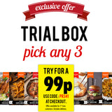 Trial Box Offer 3 Meal Kits for 99p