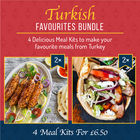 Turkish Favourites Bundle (4 Meal Kits for £6.50)