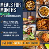 Meals For The Month - (21 Meal Kits) UPGRADE