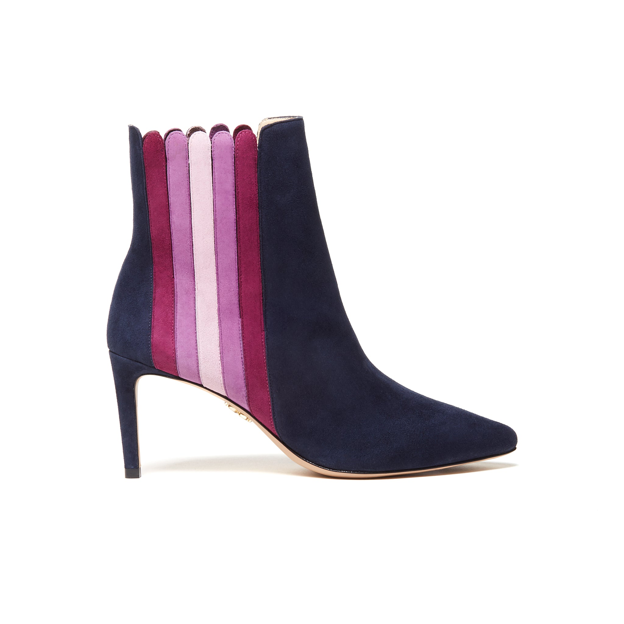 ANAIS Ankle Boots - Dark Sapphire Multi (76mm)