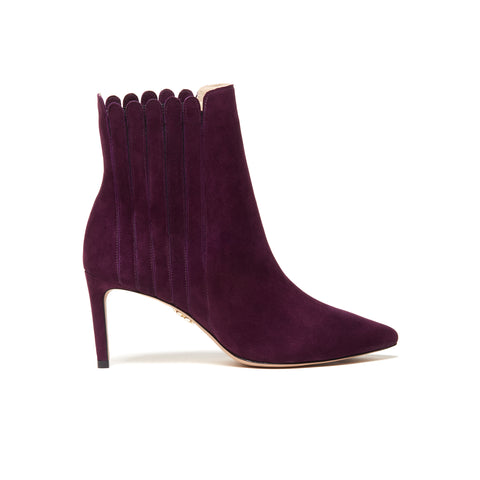 ANAIS Ankle Boots - Eggplant (76mm)