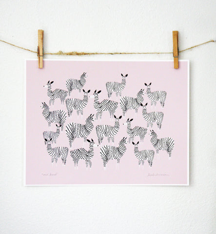 Our Herd Print