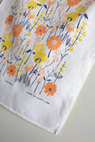 Meadow Tea Towel White