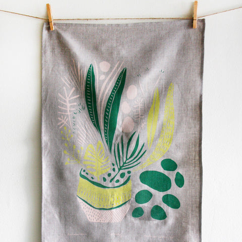 Planty Tea Towel