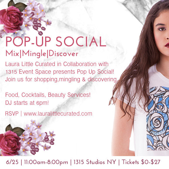 POP UP SOCIAL - Free New York Event