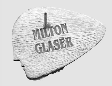 milton glaser brooch engraving