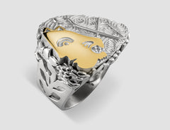 DR4 - Diana Gold and silver ring