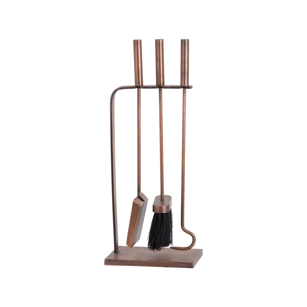 Copper Finish Slim Companion Set