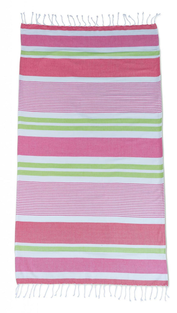 Funky Stripe Beach Towel - Brights