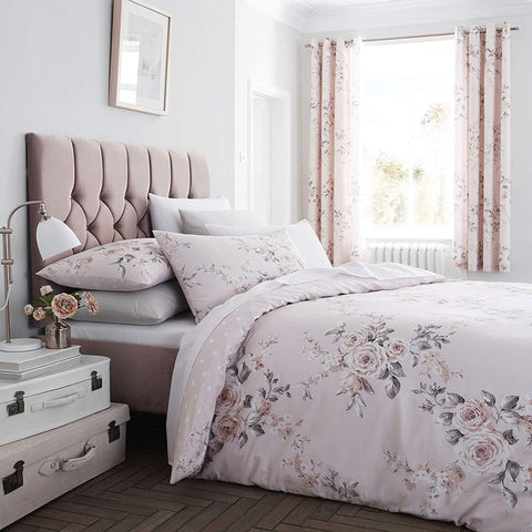 Canterbury Blush Glitter Duvet Set