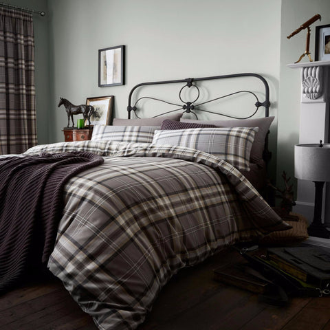 Kelso Charcoal Duvet Set