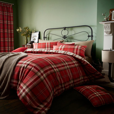 Kelso Red Duvet Set