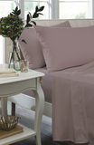 Catherine Lansfield Non Iron Percale Fitted Sheet - Heather