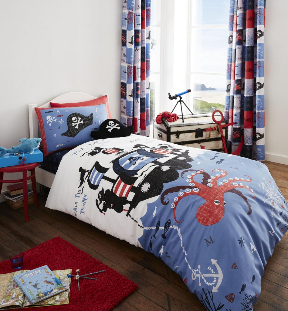 Pirate Ship Duvet Set