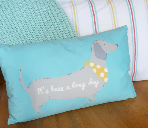 Silly Sausage Dog Cushion