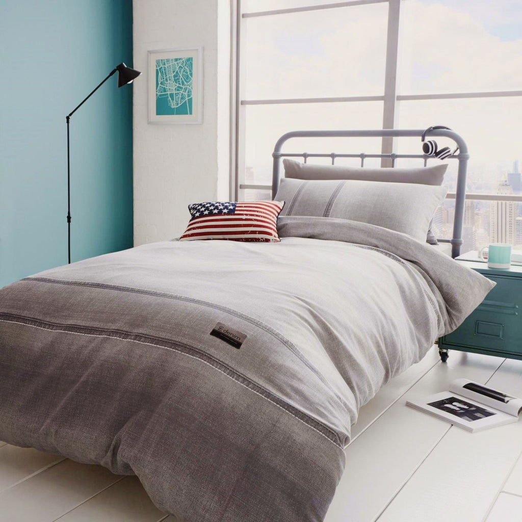 Denim Grey Duvet Set