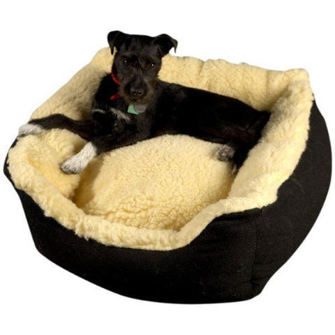 Senior Gold Cosy Dog Bed - Wheat